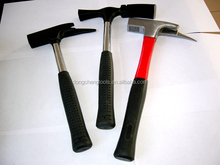 Roofing hammer one piece forged roofing hammer with TPR handle