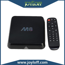 new arrival brilliant quality aluminum alloy dvb-t2 dual core tv box