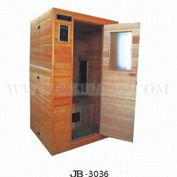 Infrared rays sauna steam cabin for two persons
