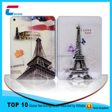 Colourful image printing PU leather smart case for ipad air ,best seller for ipad air smart case