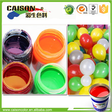 Eco friendly color pigment for balloons stain