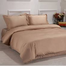 3 piece 600 thread count full size plain dyed dobby woven cotton duvet covers