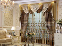 Elegant Ready Made Curtains Hot Sell Thermal Insulated Blackout Window Curtain
