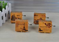 Simple Design High quality wooden music box Gift box for wholesale