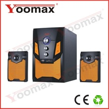 home audio,elegant design high glossy panel with metal grill,strong bass,USB,SD,FM display.