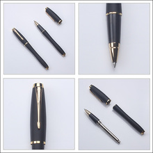Metal parker pen with laser engraved logo