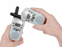 dongguan radio toy 2015 new hot icti approved toy 2 pcs walkie talkie interphone two way radio for kids from ICTI manufacturer