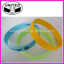 Rubber Silicone Wristband For Promotional Item