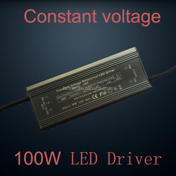 24VDC 100W led strip light driver with CE ROHS TUV certificate
