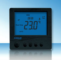 programmable Room Thermostat with Floor Sensor controller