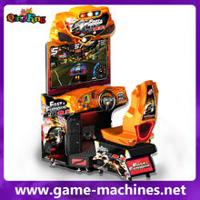Coin operated game machine 42 LCD Fast Fruious Supercars FF super car MR-QF351 3d car racing