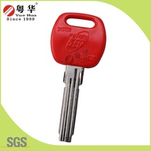 New Design Blank Computer Key Blank with all kinds of Color Rubber Head Key Blank