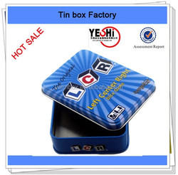 New fashion recyclabe customize business name card packing box