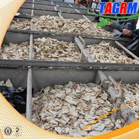 high efficient cassava/tapioca making machine chips dryer