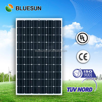 BlueSun High efficiency A Grade mono crystalline 72 cells 290w 300w 310w 320w solar panel/module