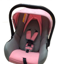 Car Interior Child Safety Seats Car Safety Seat To Ensure The Safety Of Children Color Pink Blue Can Hand Carry Suede Material