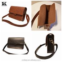 SK-4019 long stap leather messenger bag shoulder bag for girs ladies