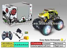 Plastic 12 Function Stunt Perform 360 degrees Spin Dancing Car Toy With Colorfull Light HS0150377