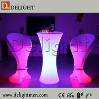 High quality illuminated led bar table furniture for outdoor party