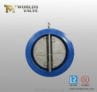 wafer type dual door non return valve