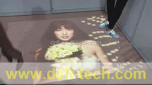 Interactive floor projection system for Advertising, Entertainment, event etc wholesale and retail,Makes your display stand out