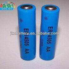ER14505 high power aa lithium battery 3.6v