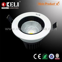 Factory supply led downlight COB 5w,cob led downlight,led downlight with ce rohs certificate