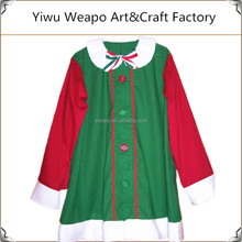 High quality factory direct sale christmas elf costume adult christmas costume