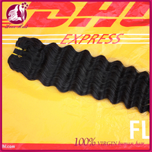 natural Color 8-30inch deep wave 100% Chinese Remy Hair Human Hair Extensions/Wefts Accept Paypal Payment