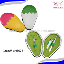 Cute manicure set ice-cream design gift set for women cheap promotional gifts