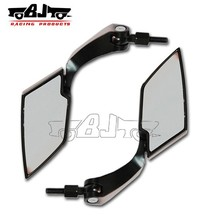 BJ-RM-014 Diamond Carbon Fiber Black Motorcycle RearView Side Mirror For Suzuki
