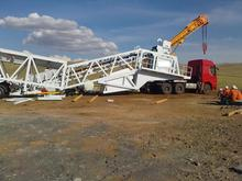 mobile concrete batching plant on sale,small mobile concrete batching plant YHZS40