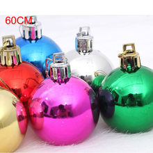 Wholesale clear glass christmas round ball ornaments