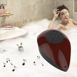 2015 New bluetooth Shower Waterproof Speaker Wireless Speaker Handsfree Mic FM shower car