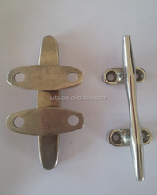 China OEM best Quality Manufacturer Brass Yacht Cleat Stainless Steel Casting Iron and steel cast Mirror polish