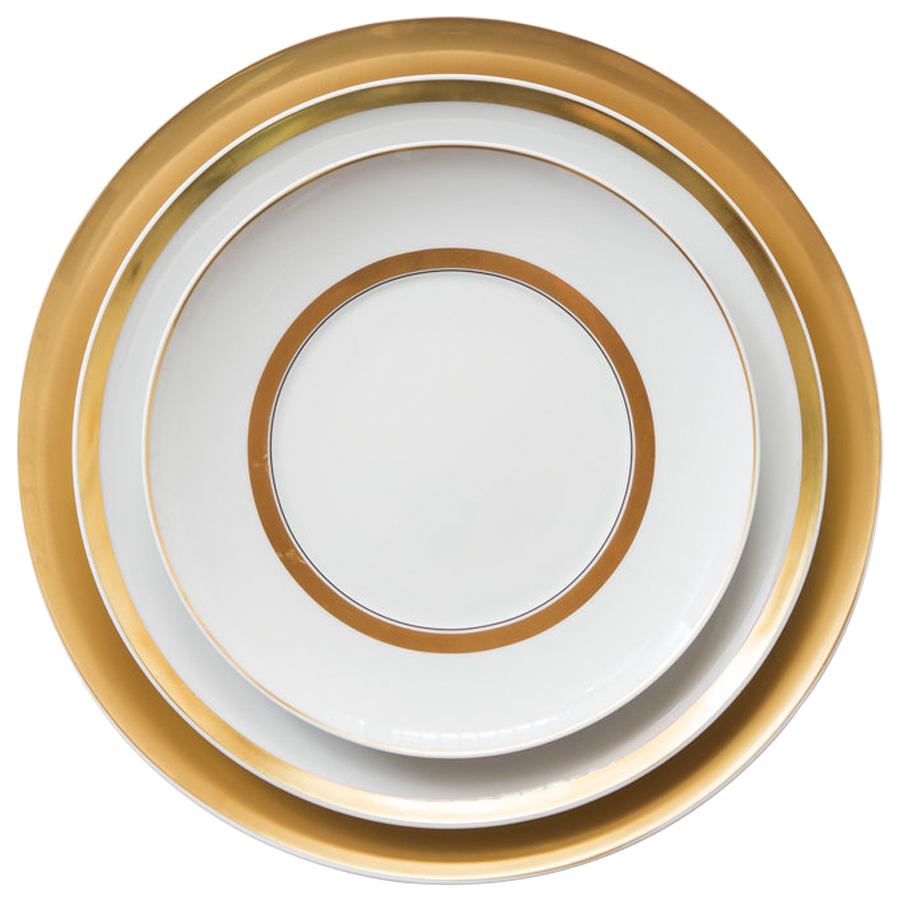 Corelle наборы посуды ручной работы оптом золото костяной фарфор Сервиз