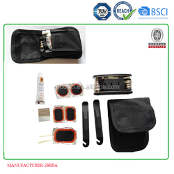 Article No. TC23 bike tyre patch tool set with bike pouch