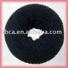 Fashionate hair accessories sponge hair bun direct sale