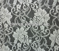Grape pattern 200D elastic nylon lace fabric