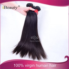 Natural Permanently Brazilian Thick Straight Hair Extensions