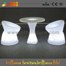 illuminated bar stool furniture with led lighting
