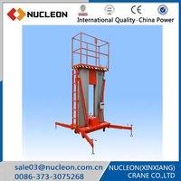 Nucleon mobile electric lift work platform truck
