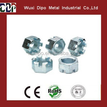 Hexagon Slotted Nut
