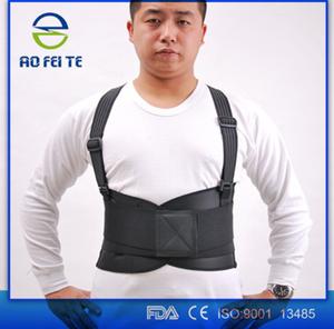 Prodotti caldi lombare in neoprene rinforzo posteriore/vita neoprene pesante supporto cinghia di sollevamento