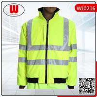 Hi vis reflective workwear jacket wholesale, thermal jacket
