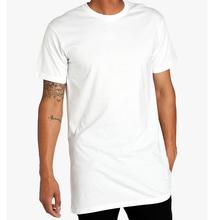 mens long plain tshirts,mens tall tees #23