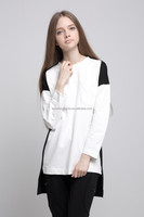 Personality European Style and Fashion Long T Shirt Design for Women