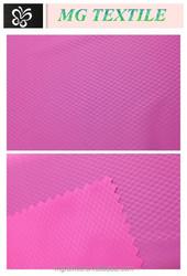 MG Textile diamond plaid full dull nylon taffeta fabric for down garment