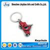 promotional motorcycle keyring cute mini motorbike metal keychain