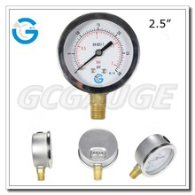 High quality brass internal pressure gauges manufacturers